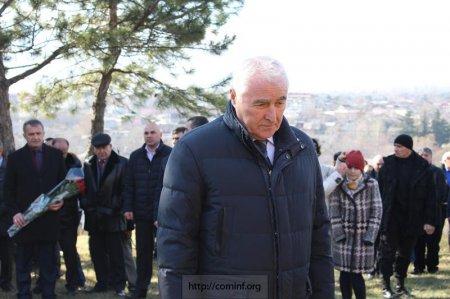 В Южной Осетии прошел митинг, посвященный началу национально-освободительной борьбы народа за свободу и независимость