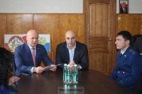 Коллективу городской прокуратуры представили нового прокурора