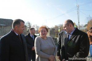 Президент  республики  осмотрел ветхие домовладения по ул. Осетинская