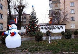 В столице Южной Осетии определили самую красивую елку
