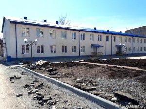 Мэрия Цхинвала благоустраивает двор детского сада №14