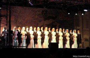 Концерт «Звенит Победой май цветущий» прошел в Цхинвале