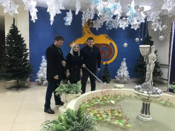 """Руководство ГУП """"Водоканал"""" исполнит новогодние желания детей"""