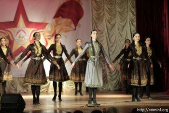 В преддверии праздника мэрия организовала концерт для ветеранов  ВОВ