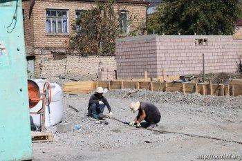 На улице Путина  появится сквер в национальном стиле