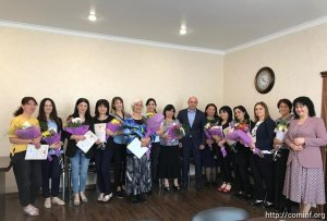 Социальные работники администрации столицы получили ведомственные награды