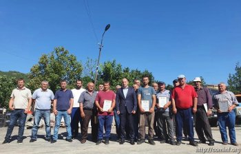 За ликвидацию пожара на полигоне ТБО: работникам благоустройства вручили награды.